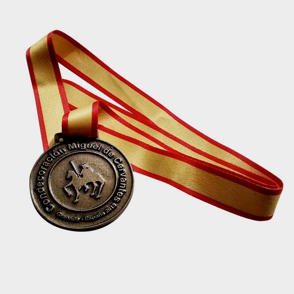 medalha dourada