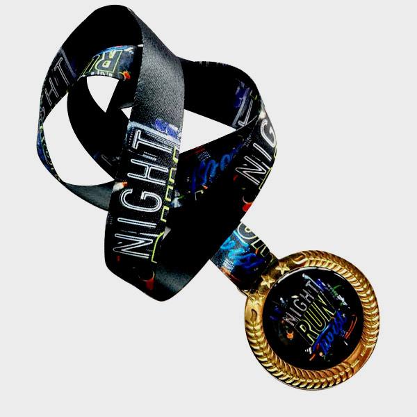 medalha night run