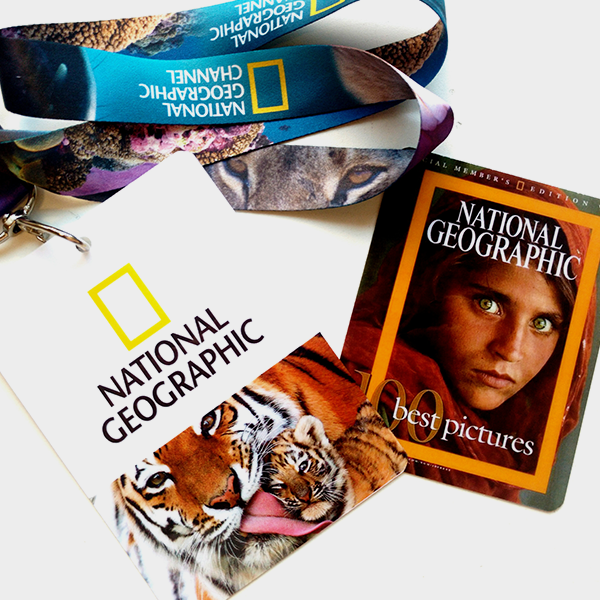 credencial semi sintética national geographic