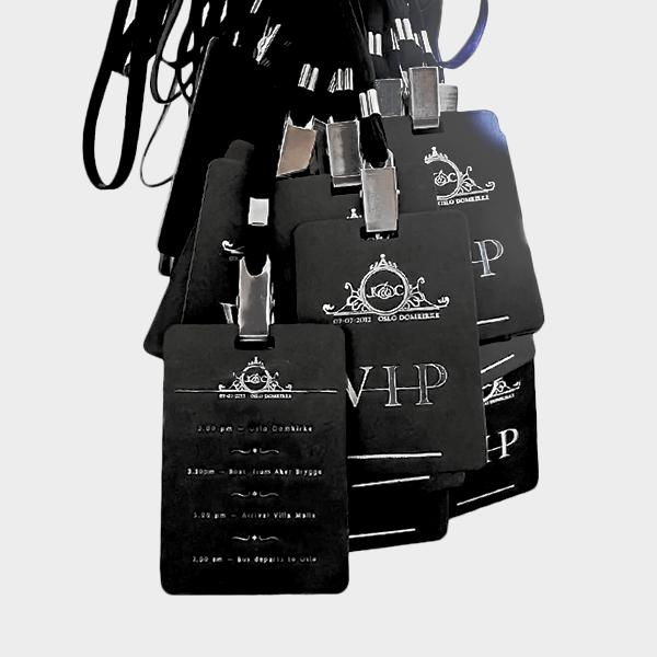 Crachá Evento VIP