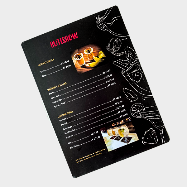 Cardápio Restaurante Personalizado