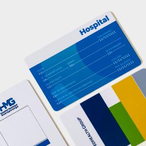 Carteirinha Hospitalar Personalizada